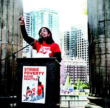 Sawant speaking