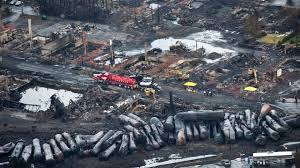 tanker cars & devastation