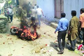 Already since Modi's election, there have been anti-Muslim riots. In this case, 12 people were injured in this May 11 riot in Meerut