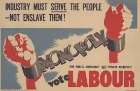Labour Party poster from 1945