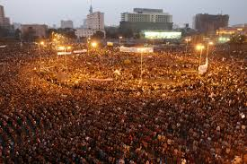 "Tahrir Square during the ""Arab Spring"" - a wider workers' movement is desperately needed."