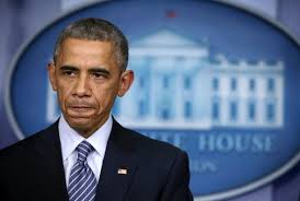 """""""First and foremost, we are a nation built on the rule of law. And so, we need to accept that this decision was the grand jury's to make."""" Barack Obama speaking on the Ferguson Grand Jury whitewash."""