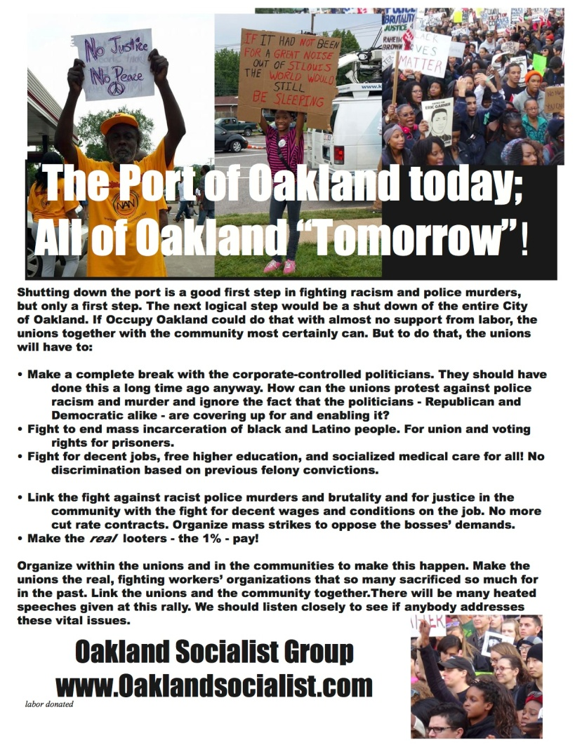 May 1 leaflet Port of Oakland Today 2