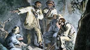 Rebellions of the slaves were one of the driving forces leading to the abolition of slavery.