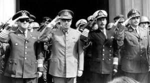 Leaders of Chile coup of 1973. They killed 10,000 or more.