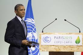 "Barak Obama in Paris. A case of ""Do as I say, not as I do."""
