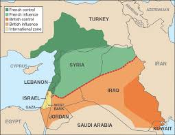 Sykes Picot countries