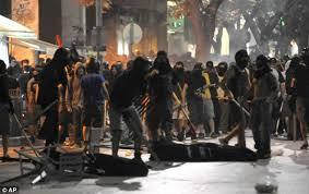 Violence in Greece by Golden Dawn fascists