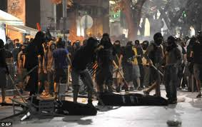 Violence in Greece by Golden Dawn fascists