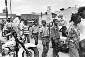 """children's march"" in Birmingham, ALA."
