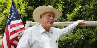 """Clive Bundy. He said, """"""""I want to tell you one more thing I know about the Negro….I've often wondered, are they better off as slaves, picking cotton and having a family life and doing things, or are they better off under government subsidy?"""" Racism is an integral part of the movement he's part of."""