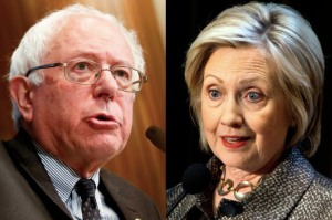 Sanders and Clinton. Will the Democratic Party accept a Sanders presidency?