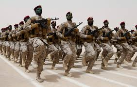 The Saudi military. They are slaughtering the people of Yemen. Sanders wants them to enter into Syria.