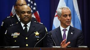 Chicago's new Interim Police Chief Eddie Johnson appointed by that great example of integrity and honesty, Mayor Rahm Emmanuel.