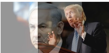 Netanyahu (l) & Trump (r). If bigoted, loose cannon populists like this can win such a base, what does this say about the future of world capitalism?