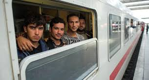 Afghan refugees seeking asylum in Germany