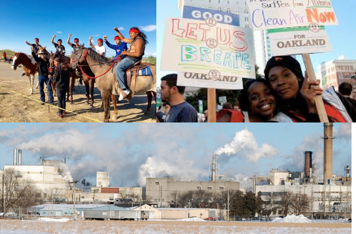 Environmental Racism From Standing Rock to Oakland, CA, it will be communities of color and poor people in general who will suffer the most from the deregulation of industry that the Republicans are pushing, with the Democrats not far behind.