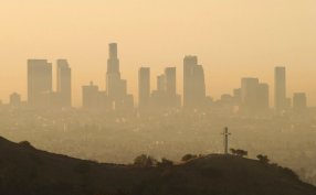Air pollution in Los Angeles. This will be the widespread result of deregulation.